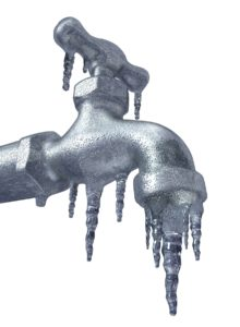 Outdoor Frozen Faucets Cause Burst Pipes
