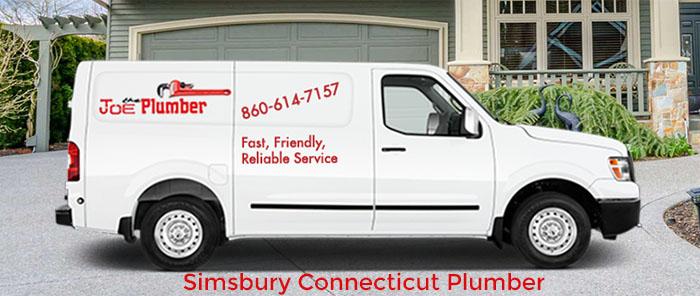 Simsbury Plumber Truck