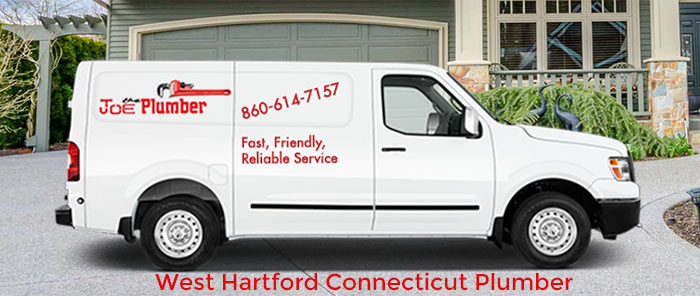 West Hartford Plumber Truck
