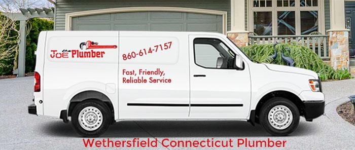 Wethersfield Plumber Truck