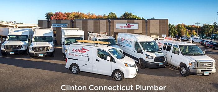 Clinton Plumber Truck