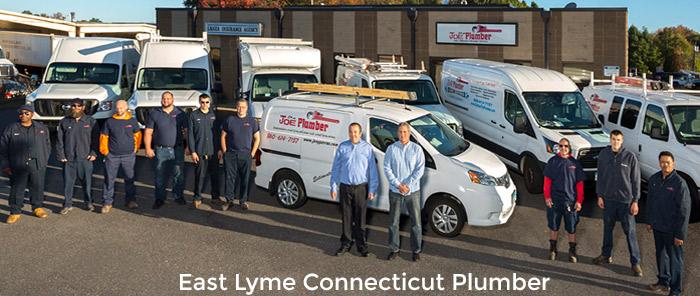 East Lyme Plumber Truck