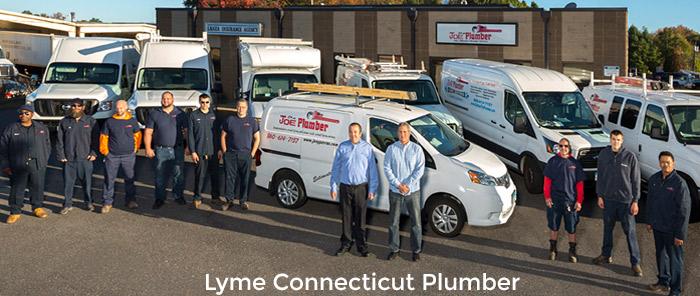Lyme Plumber Truck